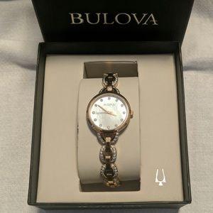 Bulova Women's 98L207 Crystal Quartz Watch